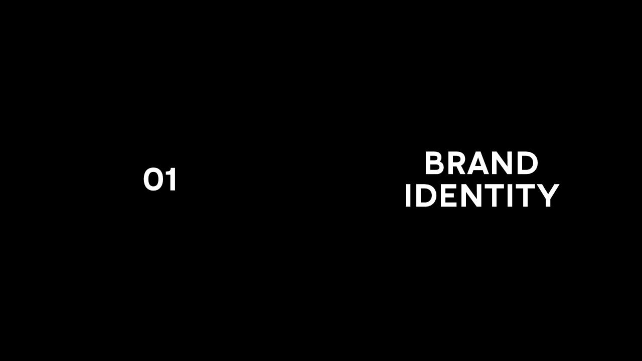 Modèle de présentation PowerPoint Dark pour Balmain 1