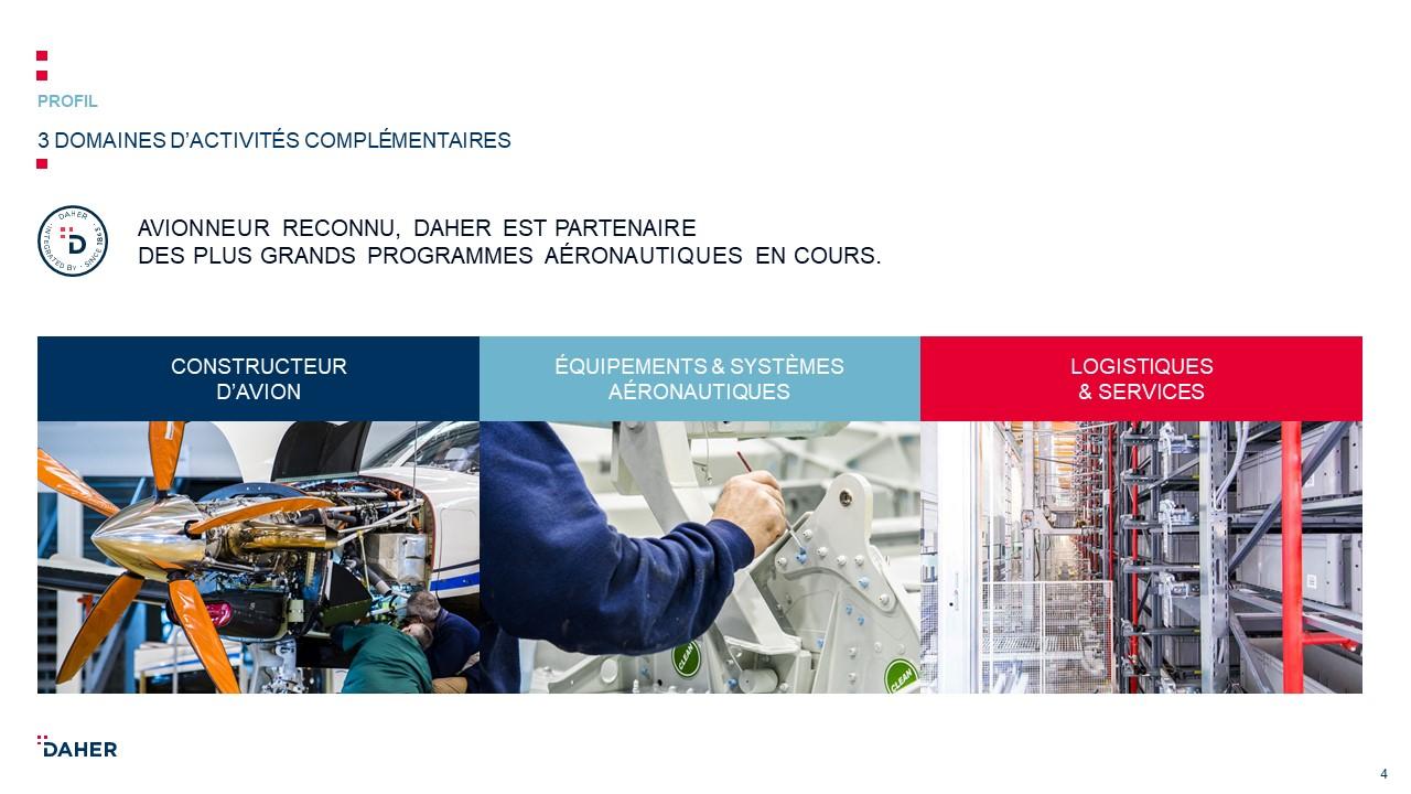 Template de présentation PowerPoint professionnelle - Daher 5