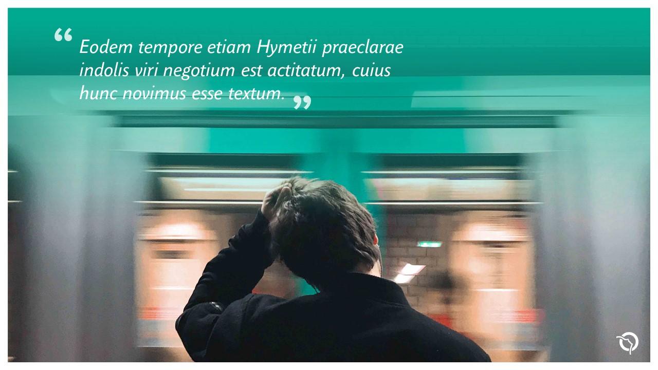 Modèle de présentation PowerPoint professionnelle - RATP 10