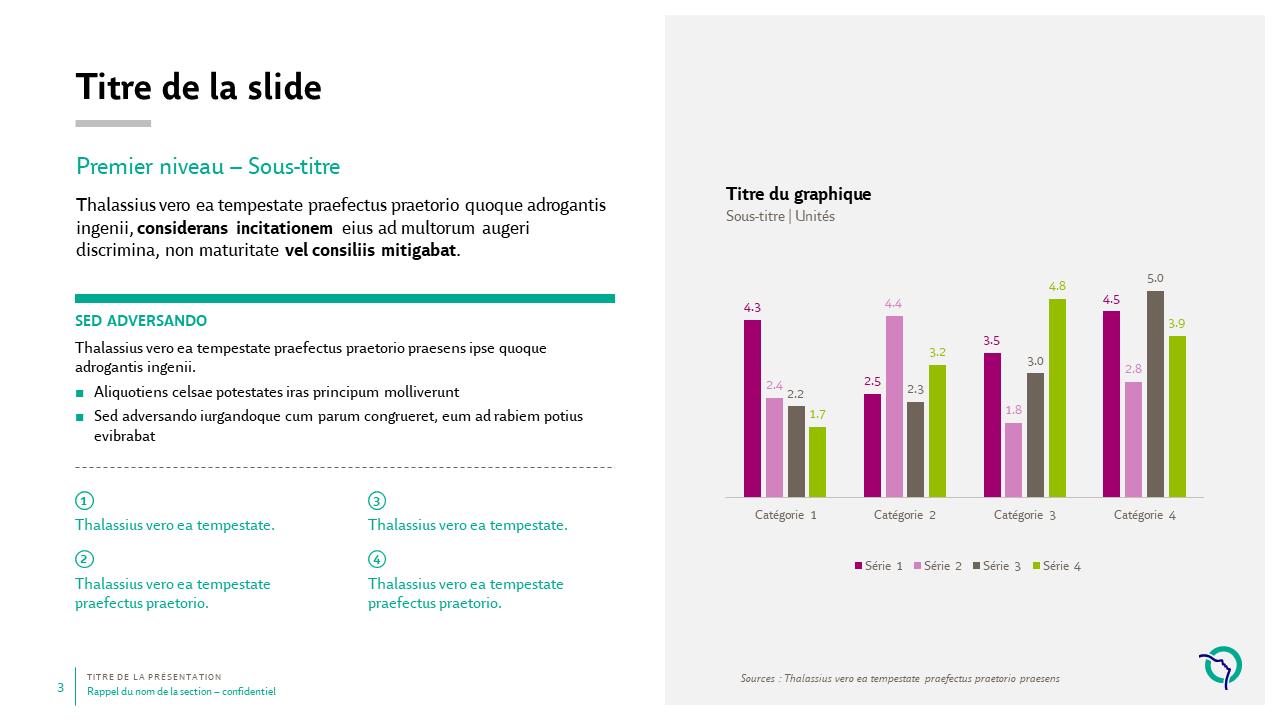 Modèle de présentation PowerPoint professionnelle - RATP 3