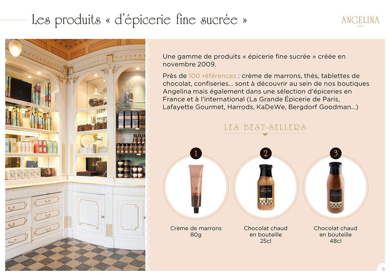 Modèle de présentation PowerPoint professionnelle - Angelina Paris 4