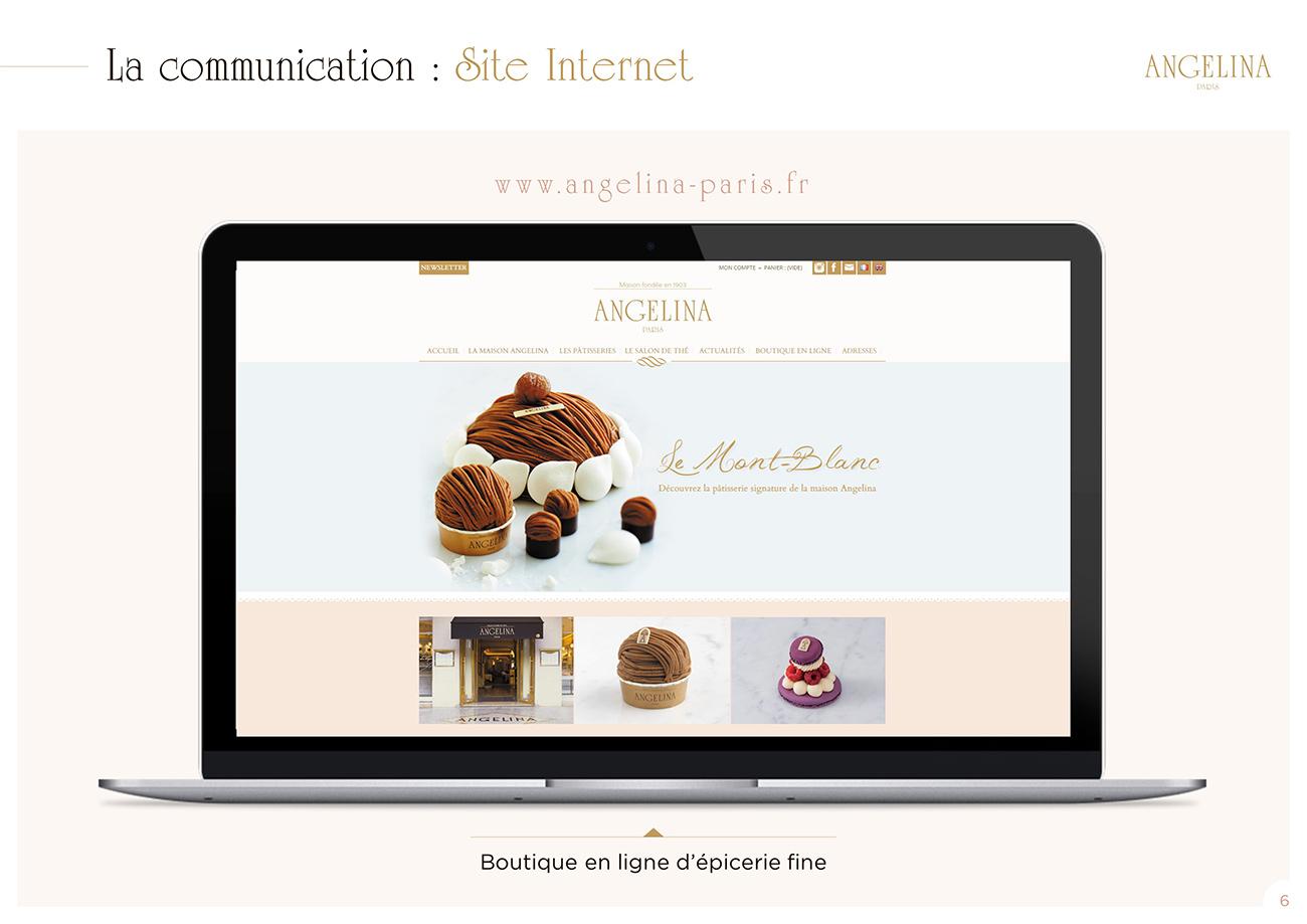 Modèle de présentation PowerPoint professionnelle - Angelina Paris 5